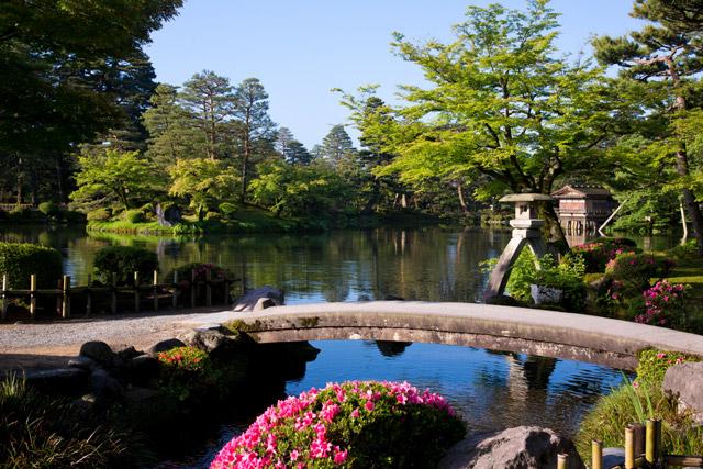 日本三大庭園の一つ「兼六園」