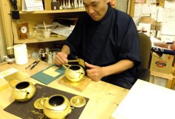 伝統工芸×金箔のコラボ