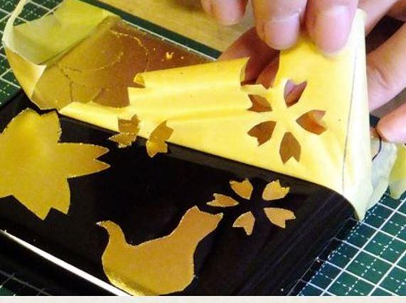 金箔を使ったオリジナルの工芸を体験できる!~ファミリーでの参加も大歓迎~